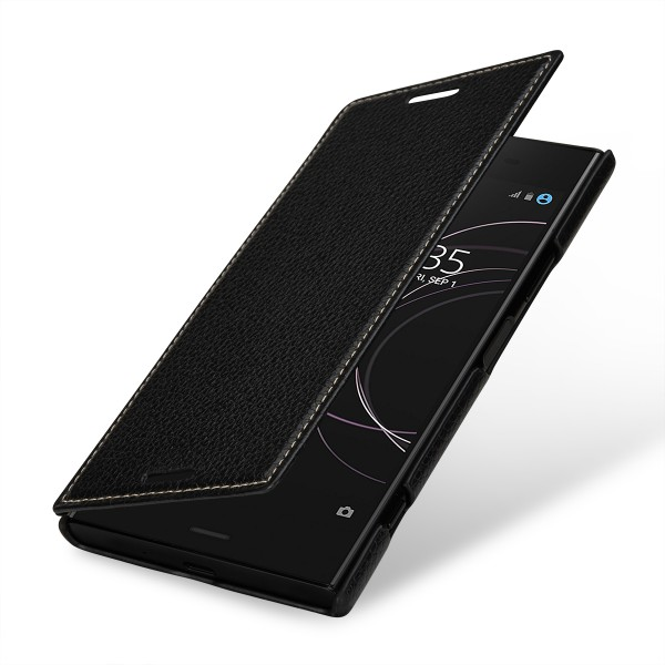 StilGut - Sony Xperia XZ1 Cover Book Type without Clip