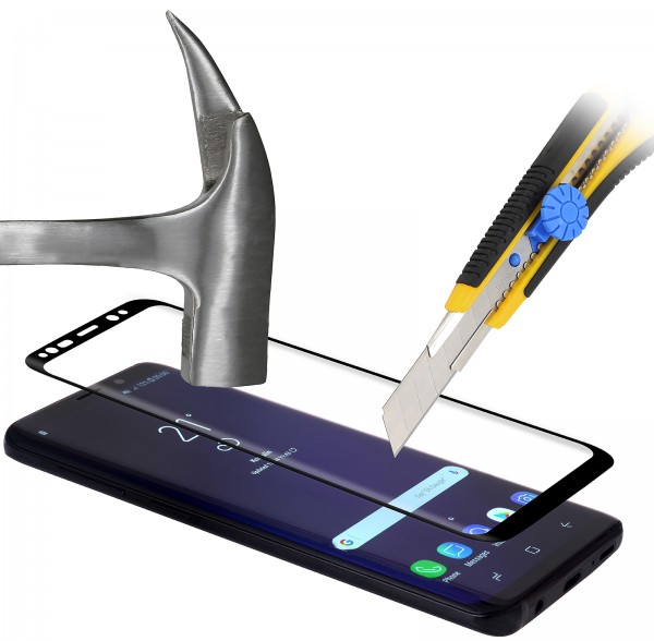 StilGut - Samsung Galaxy S9 Tempered Glass Edge to Edge