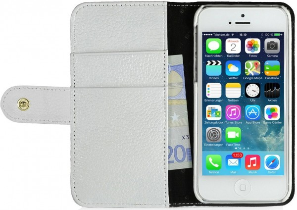"StilGut - Book Type Case ""Talis"" for iPhone 5 & iPhone 5s"