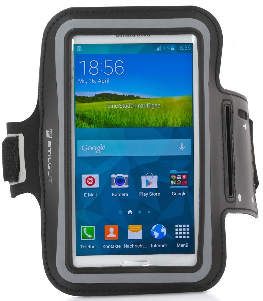 "StilGut - Sports Armband for Galaxy S5 & HTC One M8 & other 5"" devices"