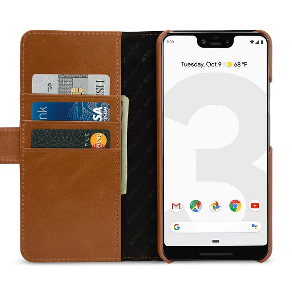 StilGut - Google Pixel 3 XL Cover Talis with Card Holder