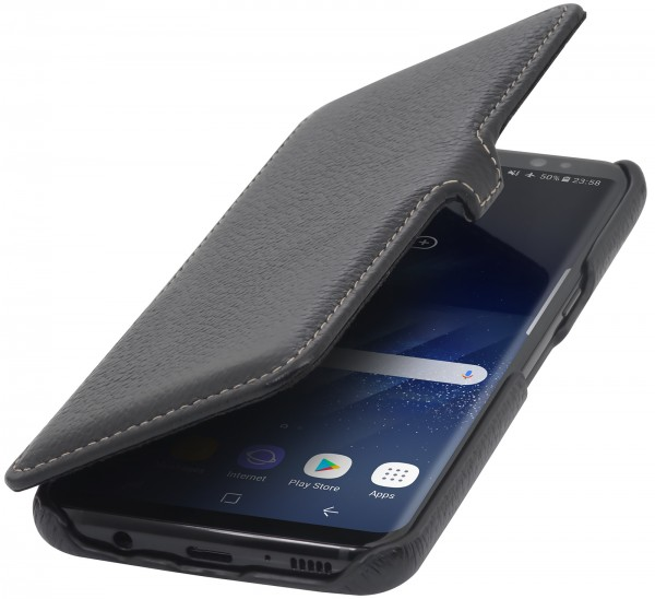StilGut - Samsung Galaxy S8 Cover Book Type with Clip