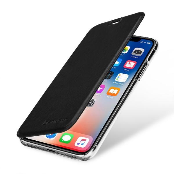 StilGut - iPhone X Book Type NFC/RFID Blocking Case