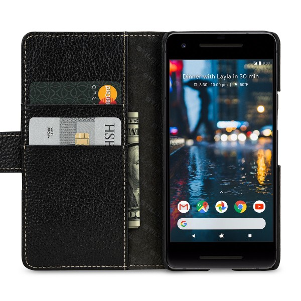 StilGut - Google Pixel 2 Cover Talis with Card Holder