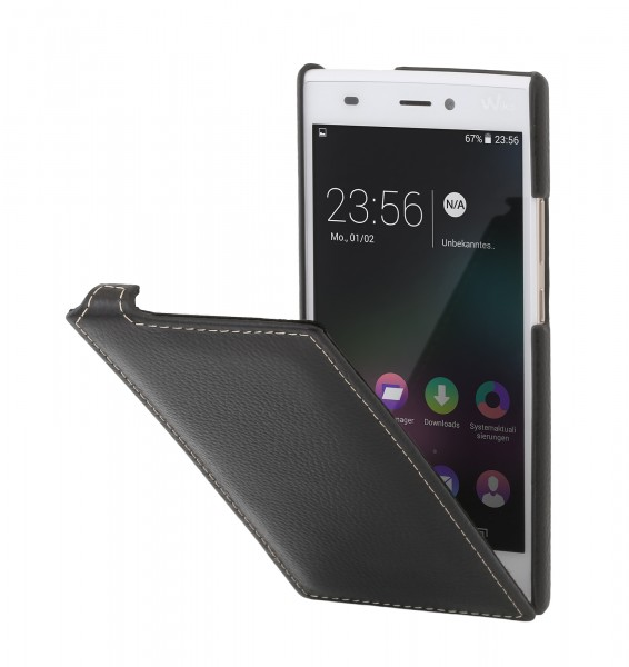 "StilGut - Wiko Ridge 4G leather case ""UltraSlim"""