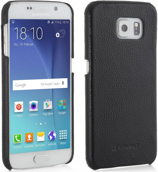 "StilGut - Galaxy S6 leather case ""Cover Type"""