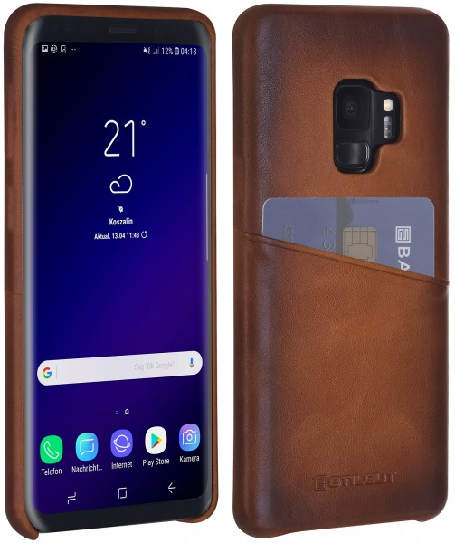 StilGut - Samsung Galaxy S9 Cover with Card Holder