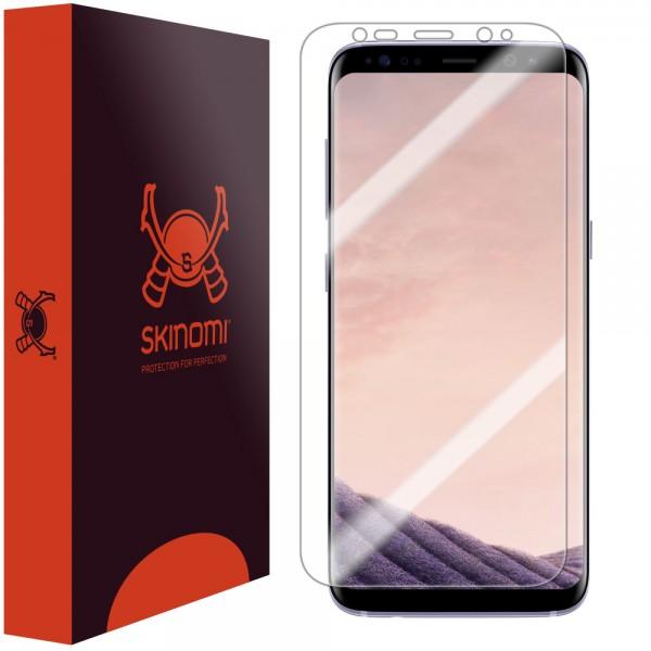 Skinomi - Samsung Galaxy S8 Screen Protector TechSkin Maximum Coverage