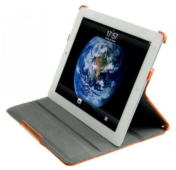 StilGut - Magic Case in leather for iPad 2