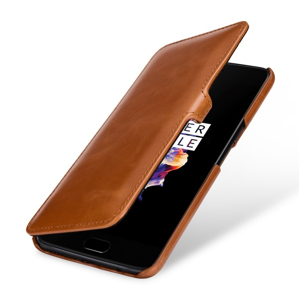StilGut - OnePlus 5 Cover Book Type with Clip