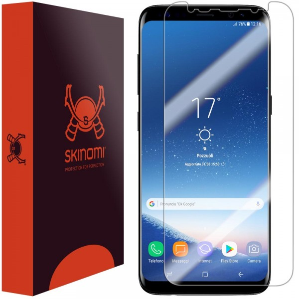 Skinomi - Samsung Galaxy S8+ Screen Protector