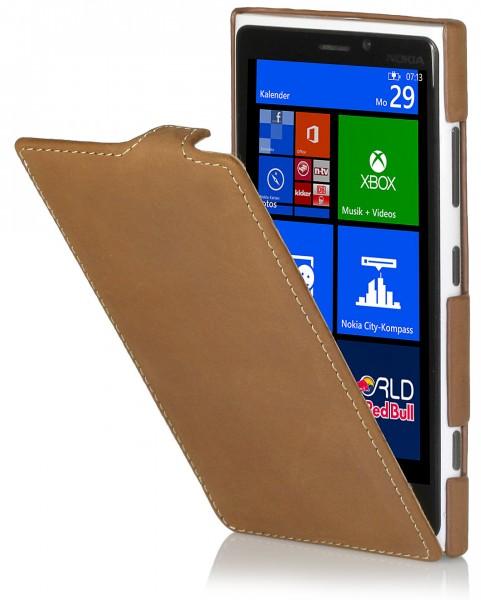 StilGut - UltraSlim leather case for Nokia Lumia 920 Old Style