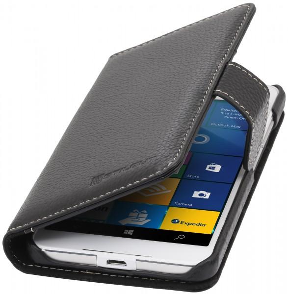 StilGut - Lumia 650 leather cover Talis card holder
