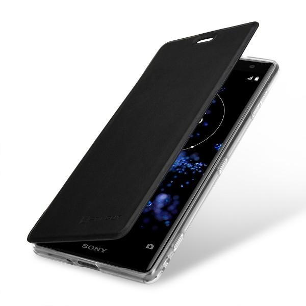 StilGut - Sony Xperia XZ2 Book Type NFC/RFID Blocking Case