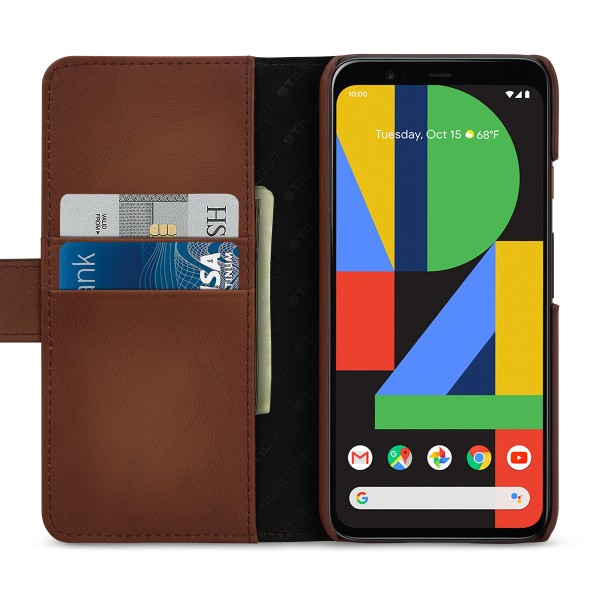 StilGut - Google Pixel 4 Wallet Case Talis