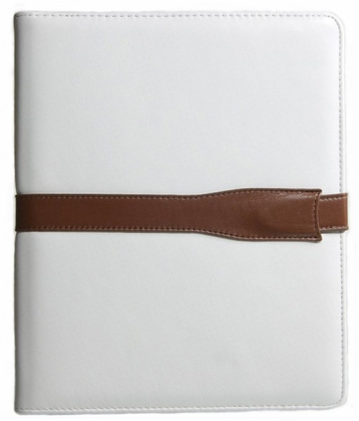 StilGut - iPad 1 case with leather buckle