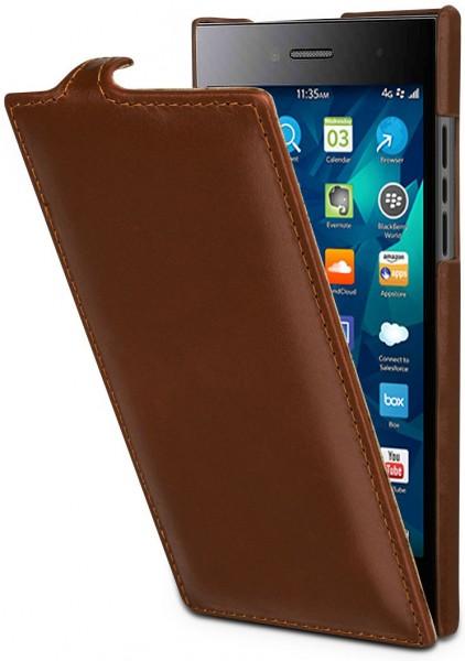 StilGut - BlackBerry Leap case UltraSlim in leather
