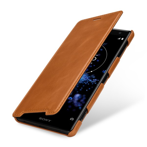 StilGut - Sony Xperia XZ2 Cover Book Type without Clip