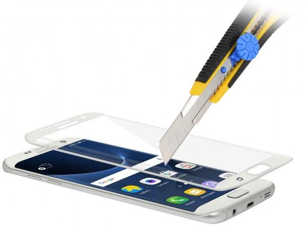 StilGut - Samsung Galaxy S7 edge Tempered Glass 3D curved (white)