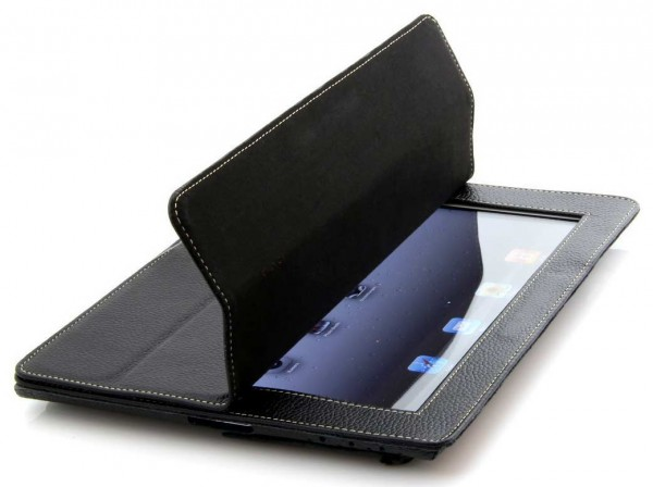 StilGut - Leather Couverture case V2 for iPad 2