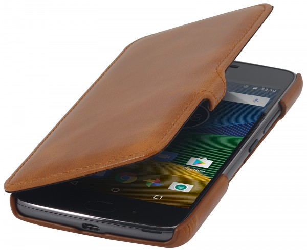 StilGut - Moto G5 Cover Book Type with Clip