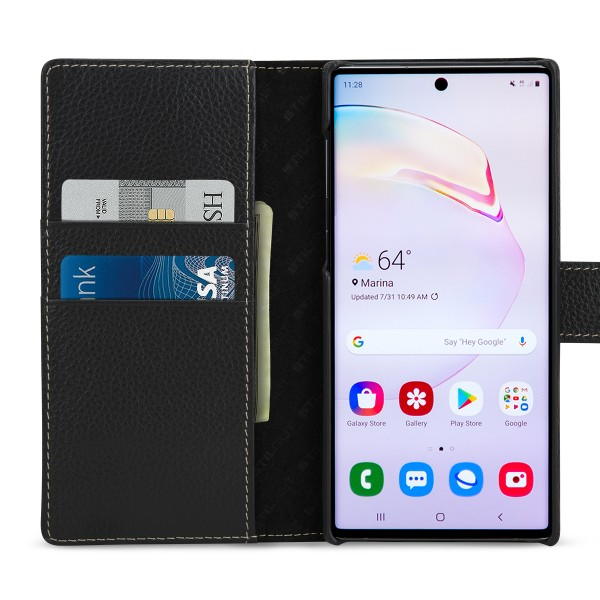 StilGut - Samsung Galaxy Note 10 Cover Talis with Card Holder