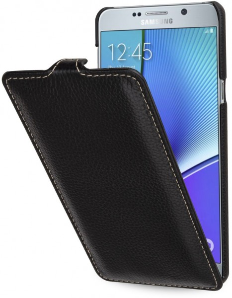 "StilGut - Galaxy Note 5 leather case ""UltraSlim"""