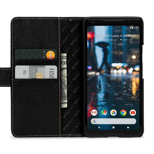StilGut - Google Pixel 2 XL Cover Talis with Card Holder