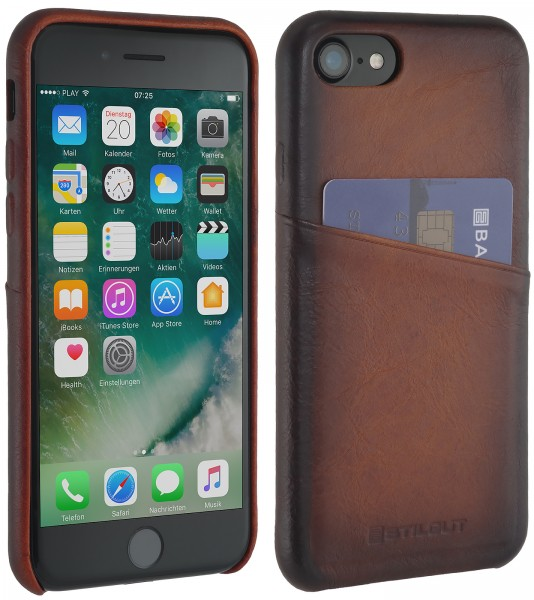 StilGut - iPhone 7 Cover with Card Holder
