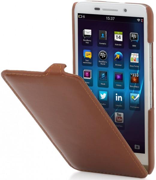 "StilGut - BlackBerry Z30 leather case ""UltraSlim"""