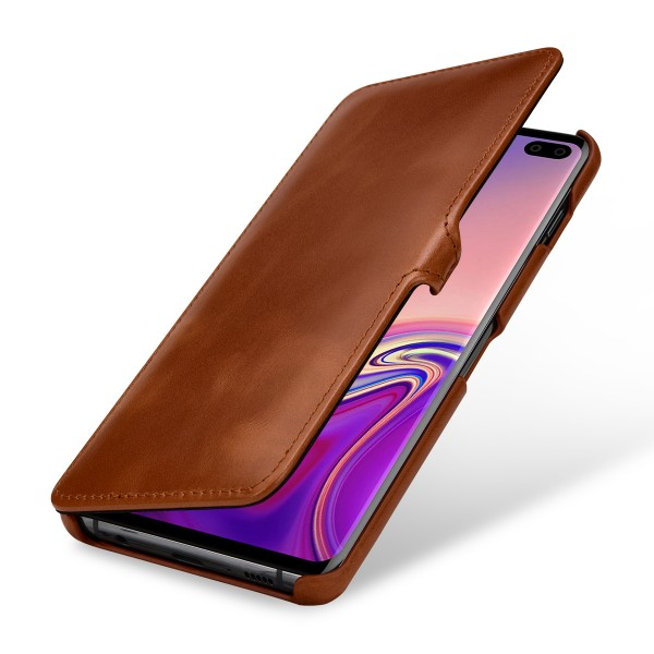 StilGut - Samsung Galaxy S10 Plus Cover Book Type with Clip