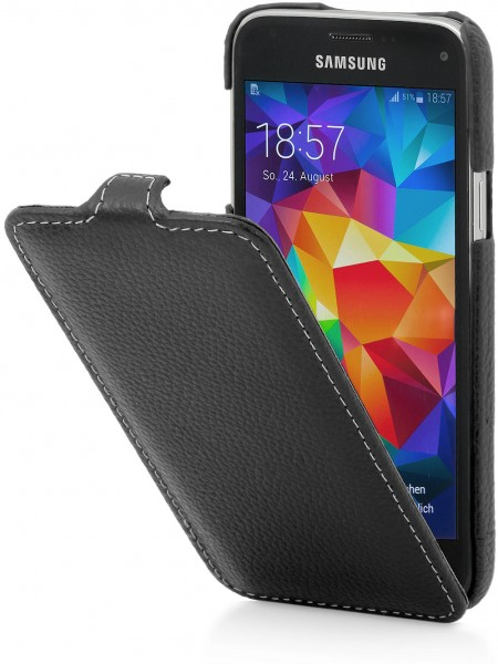 "StilGut - Galaxy S5 mini leather case ""UltraSlim"""