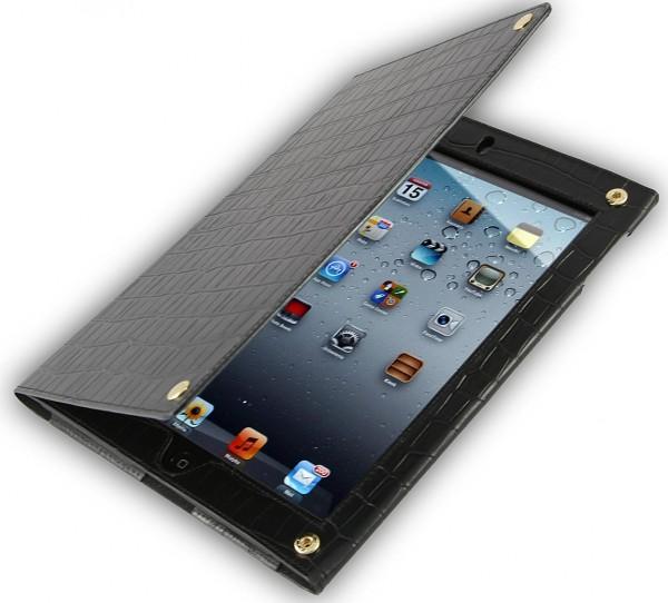 "StilGut - Prestige Edition leather case for iPad 2 ""Croco"""