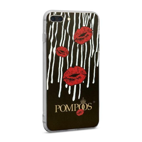 POMPÖÖS by StilGut - iPhone 7 Plus Cover Kiss - Design by HARALD GLÖÖCKLER