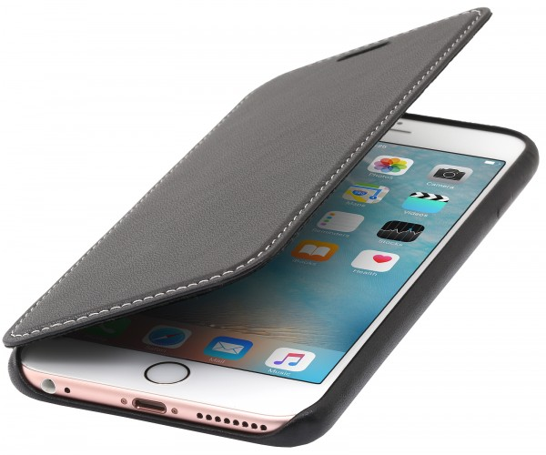 StilGut - iPhone 6 Plus Book Type Case made out of Leather