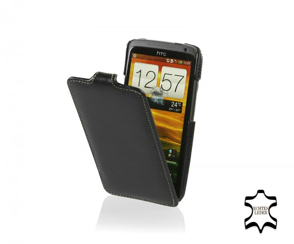 StilGut - UltraSlim Case made from leather for HTC one X