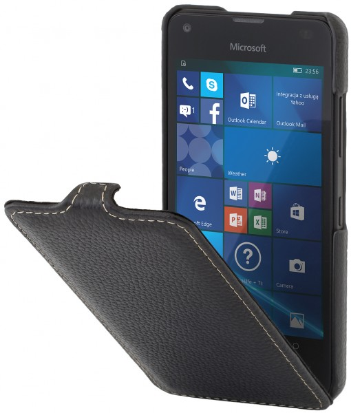 StilGut - Lumia 550 case UltraSlim in leather