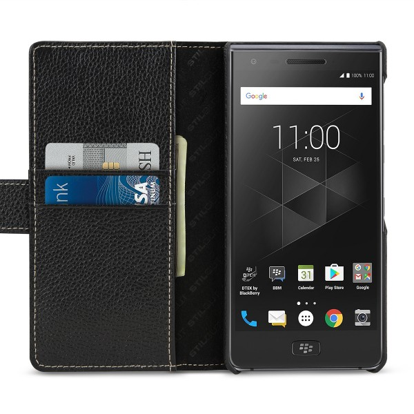 StilGut - BlackBerry Motion Cover Talis with Card Holder