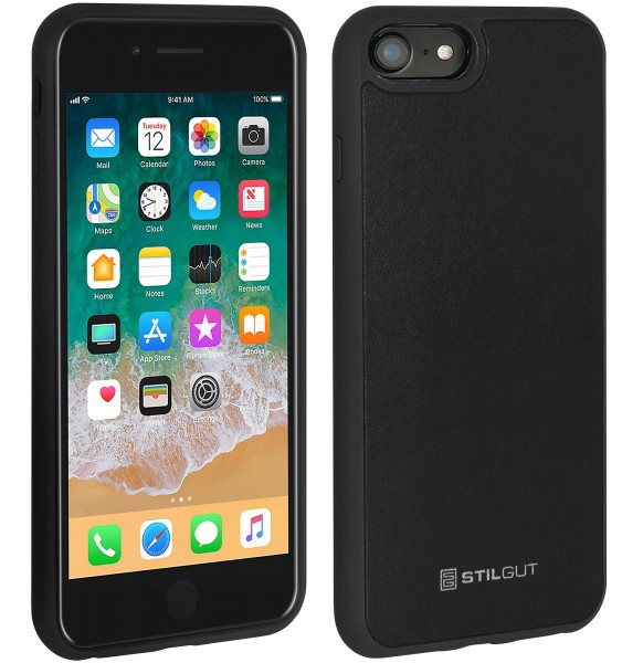 StilGut - iPhone 8 Case with Leather