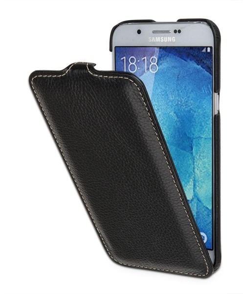 "StilGut - Galaxy A8 (2015) leather case ""UltraSlim"""