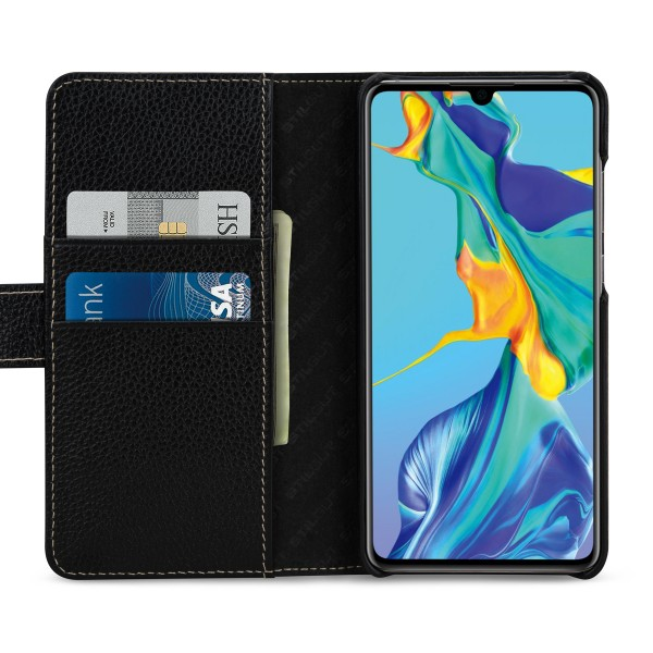 StilGut - Huawei P30 Cover Talis with Card Holder