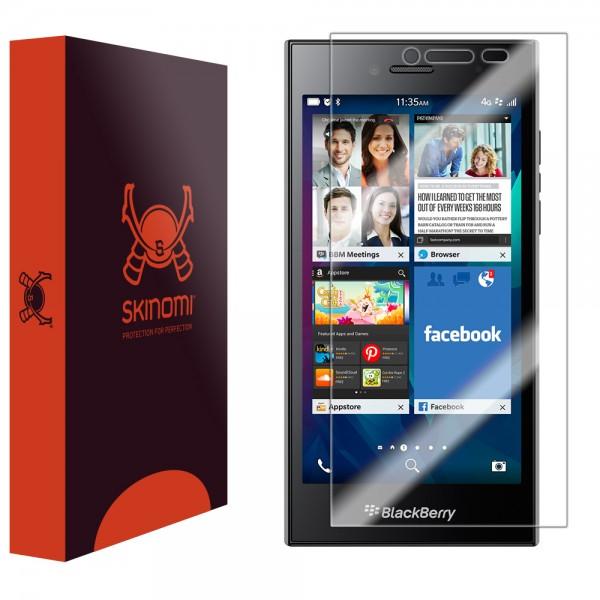 Skinomi - Screen protector for BlackBerry Leap TechSkin