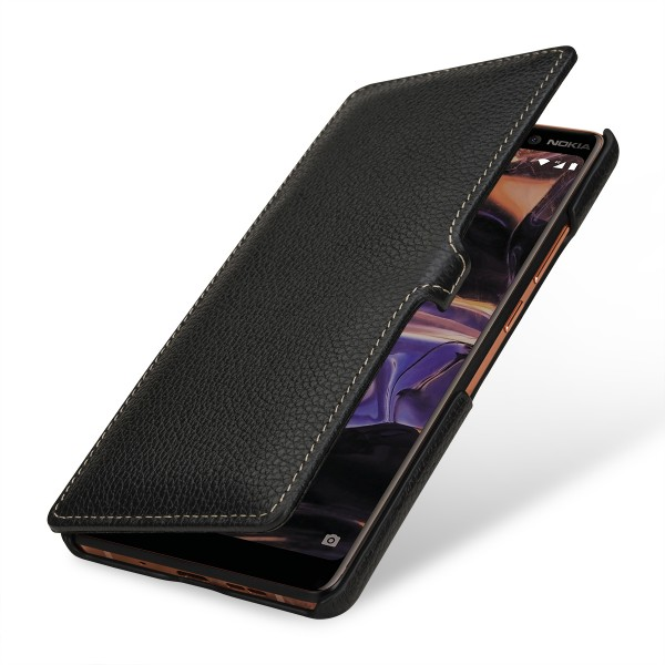 StilGut - Nokia 7 Plus Cover Book Type with Clip