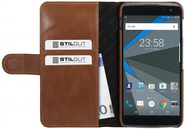 StilGut - BlackBerry DTEK60 Case Talis with Card Holder