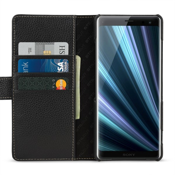 StilGut - Sony Xperia XZ3 Cover Talis with Card Holder