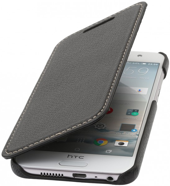StilGut - HTC One A9 cover Book Type in leather without clip