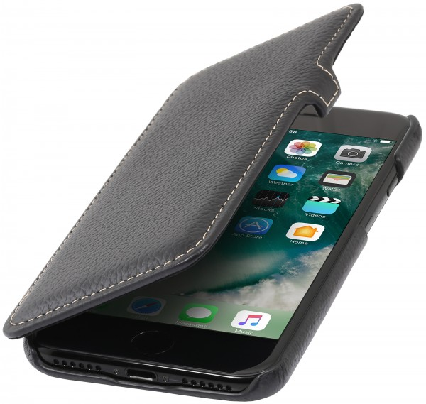 StilGut - iPhone 7 Cover Book Type with clip