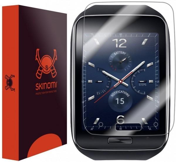 Skinomi - Screen protector for Gear S (set of 6) TechSkin