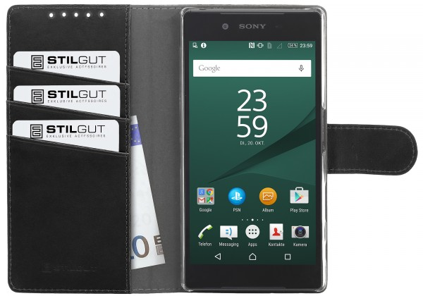 StilGut - Xperia Z5 cover Talis with stand function