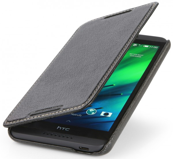 "StilGut - Leather case ""Book Type"" for HTC Desire 816"